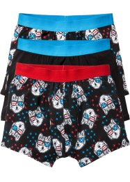 Boxershorts (3-pack), bpc bonprix collection, svart
