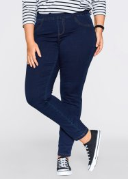 Superstretchiga, mjuka jeans, smal, bpc bonprix collection, blue bleached