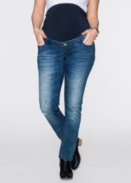 Mammajeans med destroyed look, skinny, bpc bonprix collection