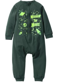 "Babypyjamas ""GLOW IN THE DARK"", bpc bonprix collection, mörkgrön"