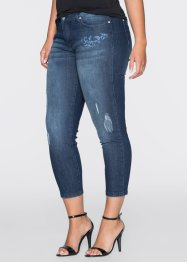 MUST-HAVE: Broderade jeans, BODYFLIRT, dark denim