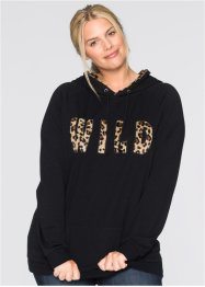 Sweatshirt, bpc bonprix collection, leopard midnattsblå