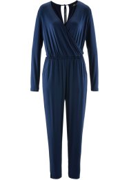 Jumpsuit, ankellång, bpc bonprix collection, mörkblå