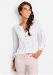Topp i flamgarn, bpc bonprix collection, mellanfuchsia