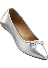 Lackballerina, bpc bonprix collection, silver