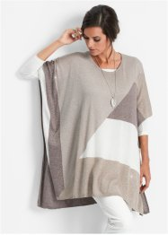 Stickad poncho, bpc selection