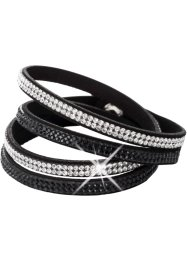 Lindat armband med kristallstenar, bpc bonprix collection