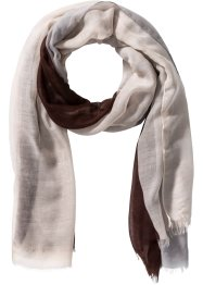 Herrscarf, bpc bonprix collection, brun/grå/beige