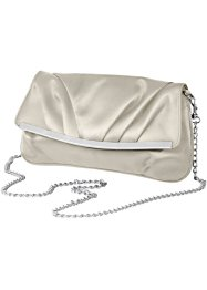 "Aftonväska/clutch ""Rebecca"", bpc bonprix collection, cremevit"