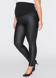Mammaleggings i skinndesign, bpc bonprix collection, svart