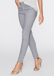 Stretchjeans, BODYFLIRT, light grey denim