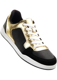 "Sneakers ""Marcell von Berlin for bonprix"", Marcell von Berlin for bonprix, svart/guld"
