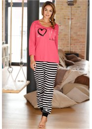 Pyjamas, bpc bonprix collection, ljus pink, randig
