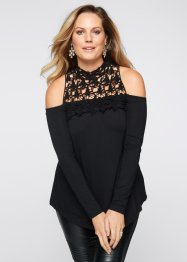 Cold-shoulder-topp, BODYFLIRT boutique