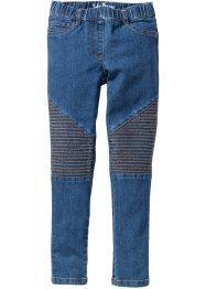 Jeggings med MC-detaljer, John Baner JEANSWEAR, blue stone