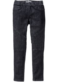 Jeggings med MC-detaljer, John Baner JEANSWEAR