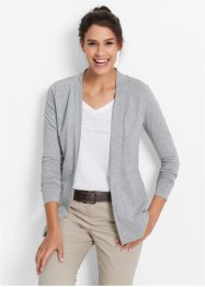 Tunn cardigan, bpc bonprix collection, ljusgråmelerad