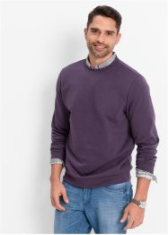 Sweatshirt regular fit, bpc bonprix collection, druvblå