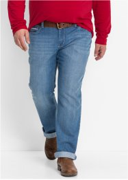Jeans, normal passform, bootcut, John Baner JEANSWEAR, blå used