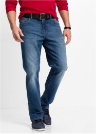 Stretchjeans, classic fit straight, John Baner JEANSWEAR, blå