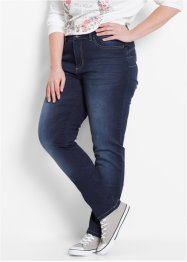 "Stretchjeans med push up-effekt, ""smala"", bpc bonprix collection, dark denim"