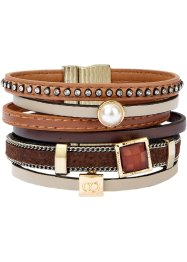 Brett armband, bpc bonprix collection, brun