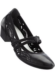 Pumps med rem, bpc bonprix collection, svarta