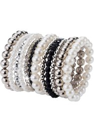 Armbandsset Perla, 12 delar, bpc bonprix collection