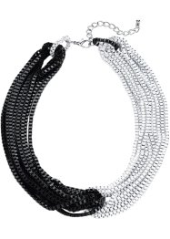 Halsband, bpc bonprix collection, svart/vit