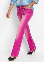 Stretchjeans BOOTCUT, John Baner JEANSWEAR, mellanmagenta used