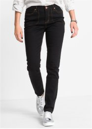 High-waist skinny, RAINBOW, svart