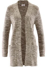 Cardigan, bpc bonprix collection, ullvit, melerad