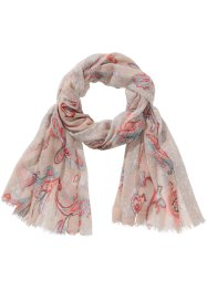 Sjal paisley/pastell, bpc bonprix collection, beige