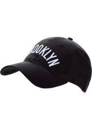 Keps Brooklyn, bpc bonprix collection, svart