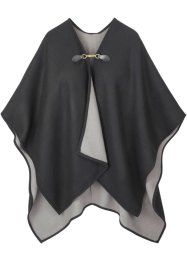 Poncho med spänne, bpc bonprix collection