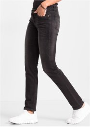 Jeans, smal modell, RAINBOW, black denim