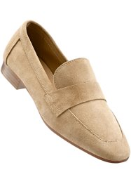 Skinnloafers, bpc selection, ljusbeige