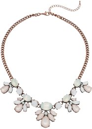 Halsband med pastellstenar, bpc bonprix collection, antik pastell