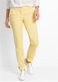 Stretch-chinos, bpc bonprix collection, ljusgul