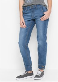 Stretchjeans, STRAIGHT, John Baner JEANSWEAR, mellanblå
