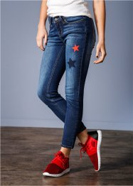 Smala jeans, RAINBOW, blue stone