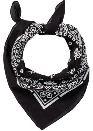 Scarf, multifunktionell, bpc bonprix collection, svart/vit