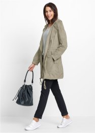 Kappa i mockaskinnsimitation, bpc bonprix collection, new khaki