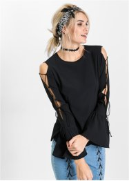 Blus med cut-outs, RAINBOW
