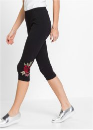 Leggings med broderi, RAINBOW