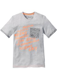 T-shirt, bpc bonprix collection, matt silver