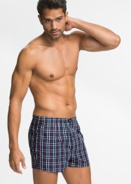 Vävda boxershorts (3-pack), bpc bonprix collection