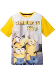"""MINIONER"" T-shirt, Despicable Me, gul, med tryck"