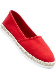 Espadriller, bpc bonprix collection, röd