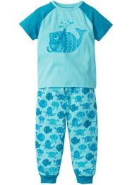 Pyjamas (2 delar), bpc bonprix collection, aqua/turkos